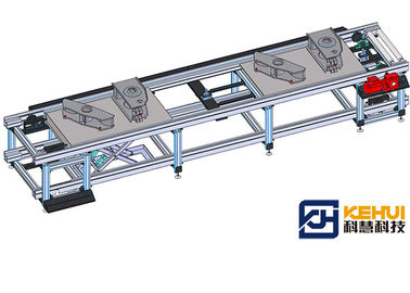 Semi Trailer Suspension Auto Assembly Line , Wleding Plant Robots Used In Factories