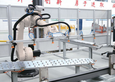 Bulldozer Beam Robotic Assembly Systems , Tipping Automatic Production Line